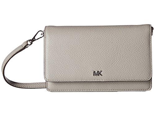 Michael Kors grey crossbody bag | MICHAEL Michael Kors Phone Crossbody Pearl Grey One Size