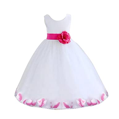 ClodeR For 2 7 Years Old Fashion Cute Baby Girls Flower Mini Tulle Summer