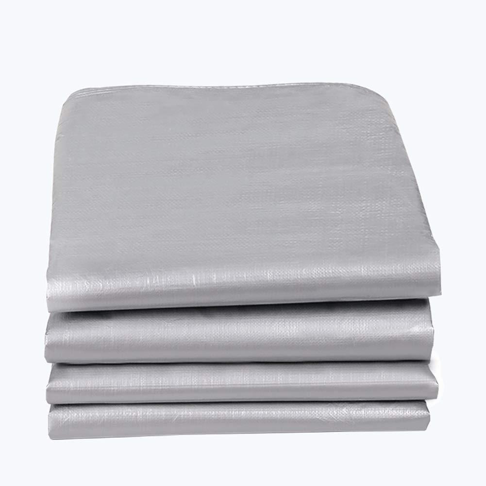 WDXJ Strato di plastica Spessa impermeabilizzante Protezione Solare Esterna Isolamento Tenda Tenda, 180 g   m2 (Dimensioni   4m×6 m)