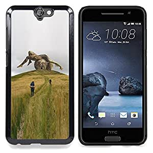 For HTC ONE A9 - sculpture metaphor deep sci-fi summer /Modelo de la piel protectora de la cubierta del caso/ - Super Marley Shop -