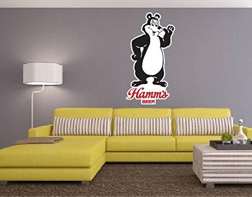 Hamms Graphic Vinyl Sticker Vintage product image