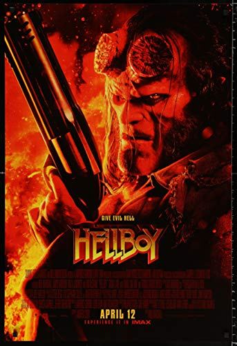 Hellboy Theatrical Movie Poster 2019