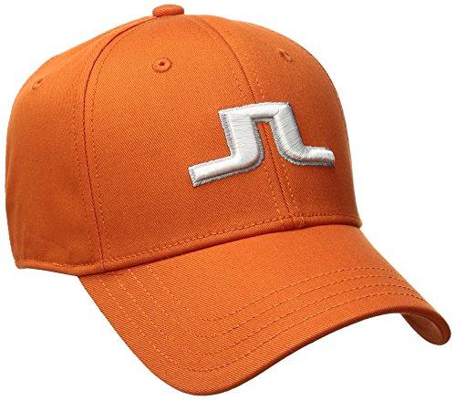 jlindeberg-mens-banji-flexi-twill-cap-racing-orange-large
