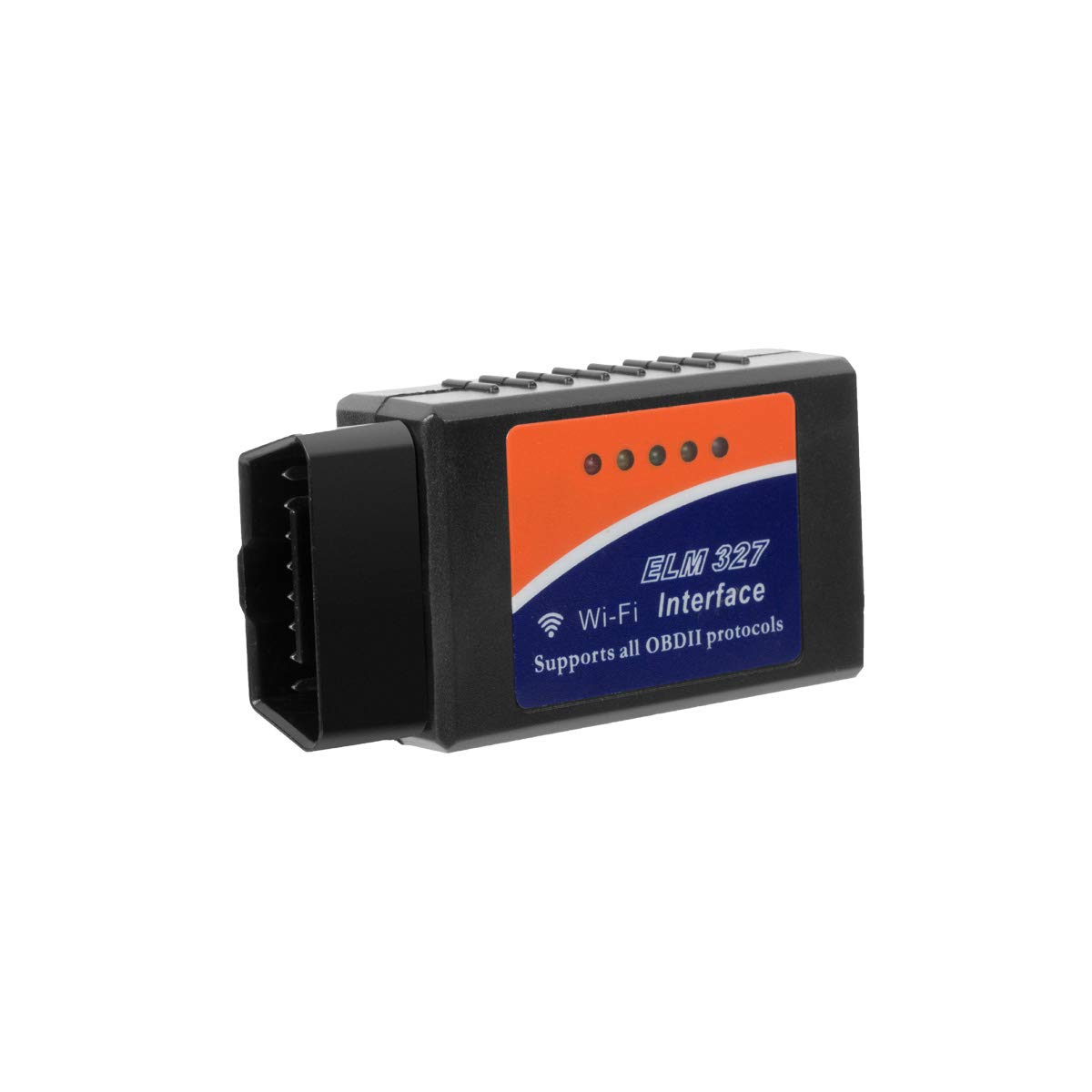 Elm327 WiFi OBDii Interface with Switch OBD2 Can Bus Scanner Diagnostic Tool with Original 25k80 Chip Support iOS//Android V2.1