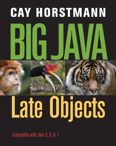 Download in PDF] Big Java: Late Objects by - Cay S