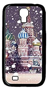Samsung Galaxy S4 I9500 Black Hard Case - The Snow Castle Galaxy S4 Cases by supermalls