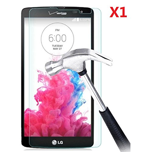 EVERMARKET Premium Tempered Glass 9H-Hardness Screen Protector Flim for LG G Vista VS880 - 1 Pack (Lg G Vista Screen Protector compare prices)