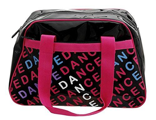 Capezio Bag Bowling by Black Print Letters Capezio Dance qCTArqnF