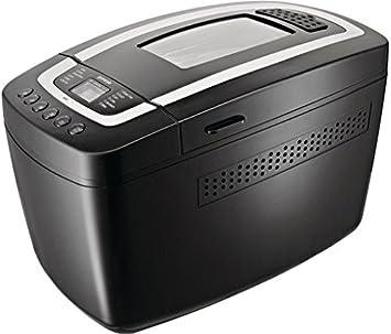 Gorenje BM1200BK Negro 800W - Panificadora (Negro, Botones, LCD, 800 W, 262 mm, 425 mm): Amazon.es: Hogar