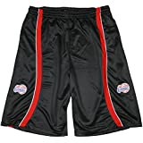 Los Angeles Clippers Youth Zipway Black Mesh Shorts