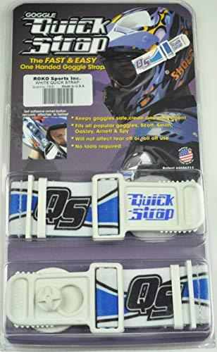 Roko Goggle Quick Strap White Oakley Spy Thor ()