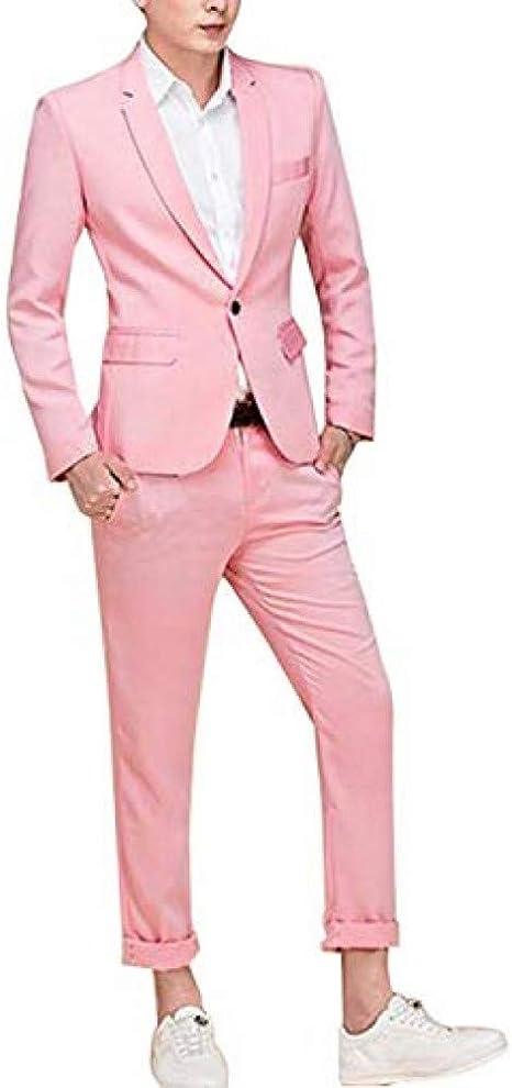 GFRBJK Moda Colorida Trajes para Hombre Tuxedos de la Boda para ...