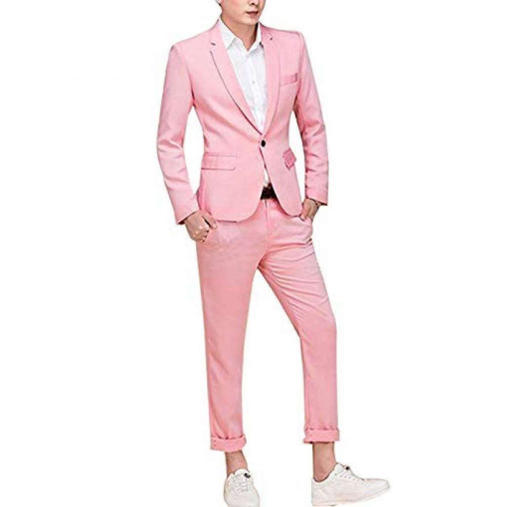 GFRBJK Trajes para Hombre de Moda Colorida Esmoquin de Boda para ...