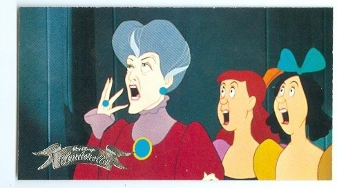 Tremaine Anastasia Drizella trading card Cinderella 1995 Skybox -