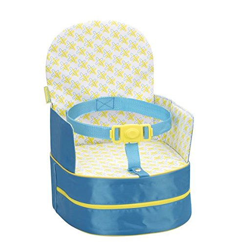 Badabulle Travel Feeding Booster Seat, Blue BABYMOOV UK LTD B009405