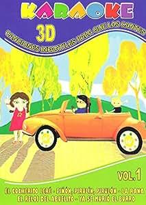 Karaoke Canciones Infantiles para que las Cantes Vol. 1 [DVD]