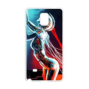 Samsung Galaxy Note 4 Cell Phone Case White Robot H7S8VC