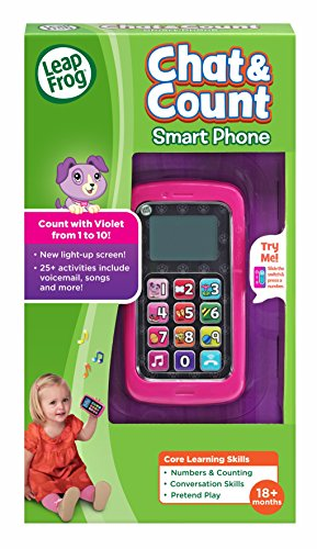 51kPz3w8XbL - LeapFrog Chat And Count Smart Phone, Violet