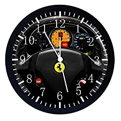 Extra Large Size 14 Super Car Wall Clock Home Office Decor or Nice For Gift W457