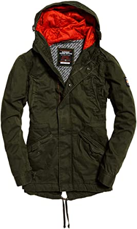 Superdry Classic Rookie Military Chaqueta deportiva para Hombre