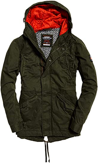 TALLA M. Superdry New Rookie Military Parka Hombre