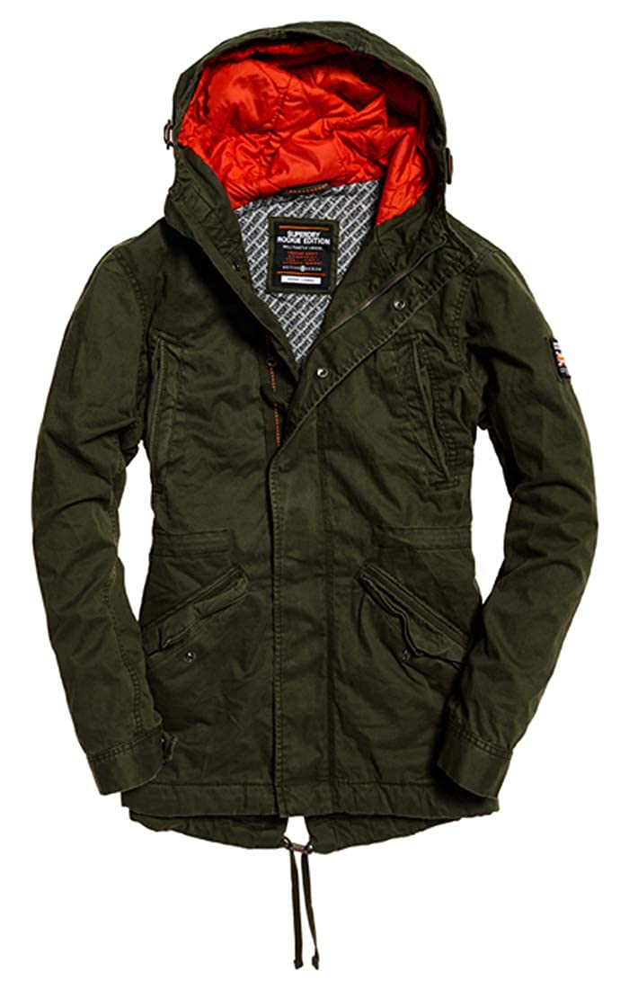 TALLA L. Superdry New Rookie Military Parka Hombre