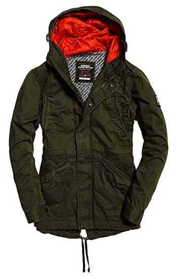 5a1282ae530 Superdry Men's New Rookie Military Parka: Amazon.co.uk: Clothing