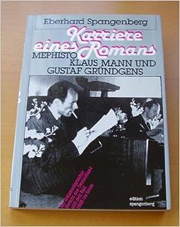 Mephisto - Eine Karriere (German Edition)