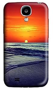 Samsung S4 Case Ocean Sunset Ios7 3D Custom Samsung S4 Case Cover