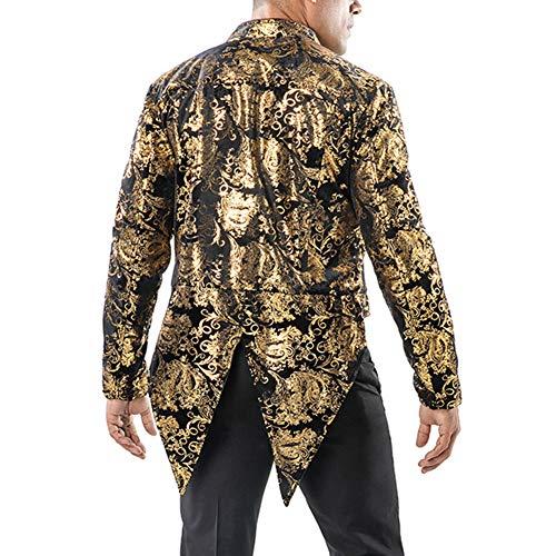 uomo da oro Cod con nuziale cod coda Giacca 5SCqBww