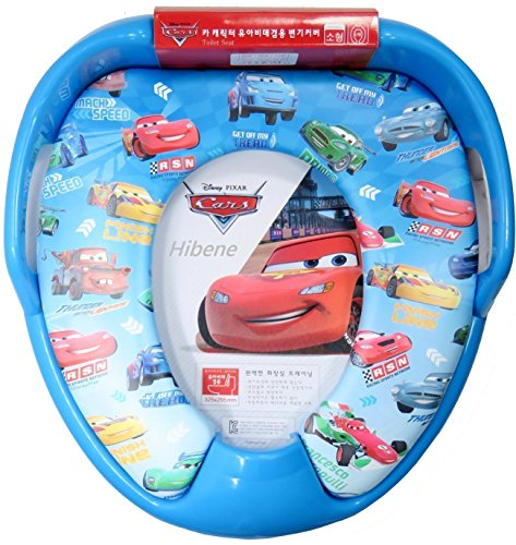 Seat Soft Cars Potty (Disney Pixar Cars Children Potty Soft Toilet Training Handle Seat Cover)