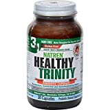 2 Pack of Natren Healthy Trinity Dairy Free - 30 Capsules - Maximize Digestion - Gluten Free - Non GMO