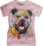 The Mountain Women's Beware Of Pit Bulls T-Shirt Pink 2XL