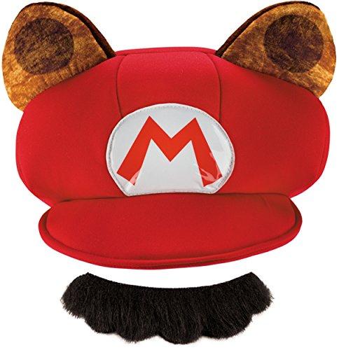 Cheap Super Mario Costumes (Super Mario Bros Nintendo Mario Raccoon Costume Kit Adult)