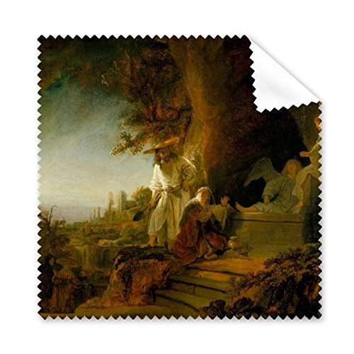 Landscape Oil Painting Rembrandt Harmenszoon van Rijn guin Famous Oil Schools of Impressionism Panintings Oils Glasses Cloth Cleaning Cloth Phone Screen Cleaner 5pcs