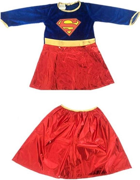 DMMDHR Halloween Nuevo Disfraz de película de Mujer niños Vestido ...