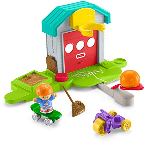 Fisher-Price Little People Big Helpers Garage