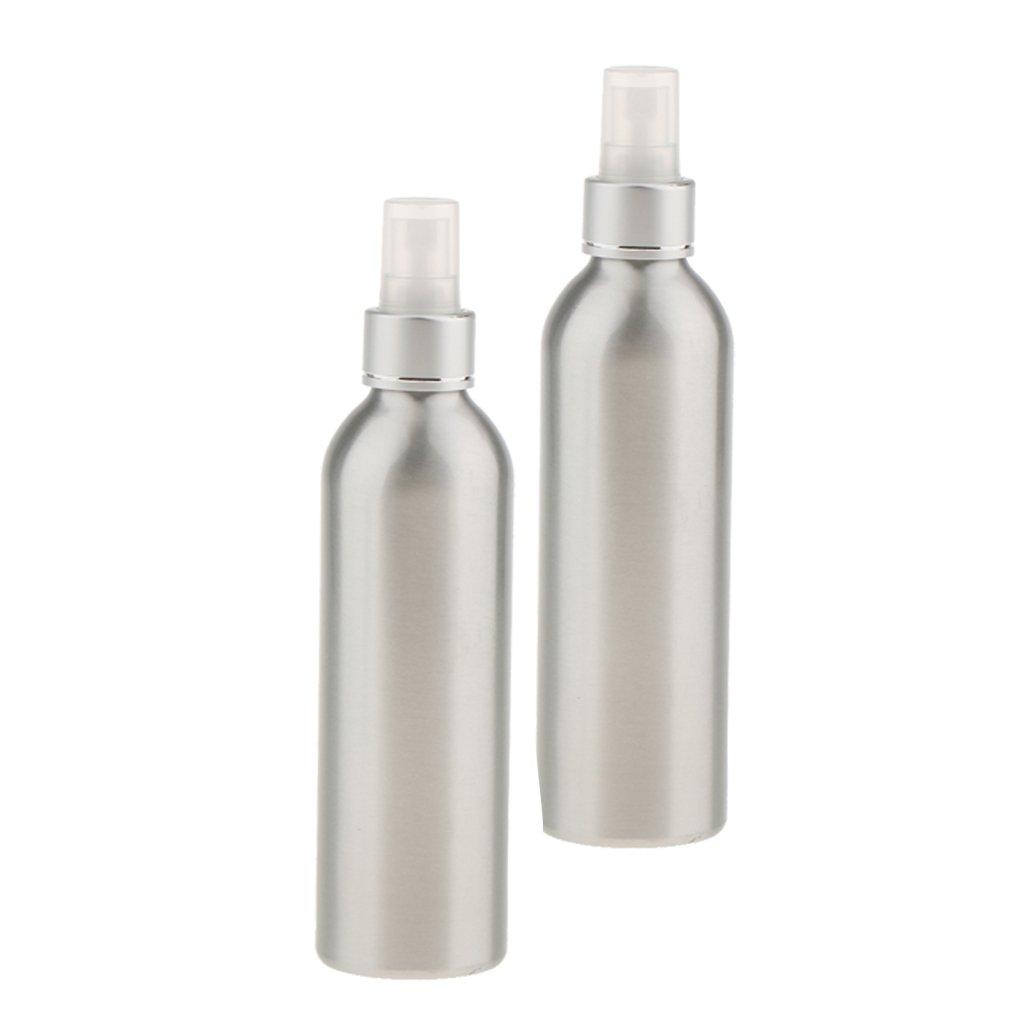 perfk 2x Bouteille Vaporisateur Vide à Pulvérisation en Brouillard Flacon Cosmétique Spray pour Parfum Huile Essentielle Lotion de 250ml