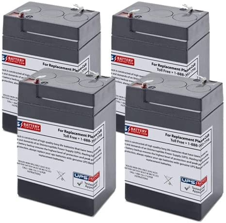 Unison DP800 UPS Replacement Battery Set 4 battery model