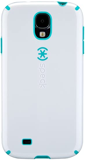 on sale cfdcb db6fc Speck Products CandyShell Samsung Galaxy S4 Case - White/Caribbean Blue