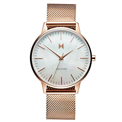 MVMT Boulevard Watches | 38 MM Women's Analog Watch | Sunset