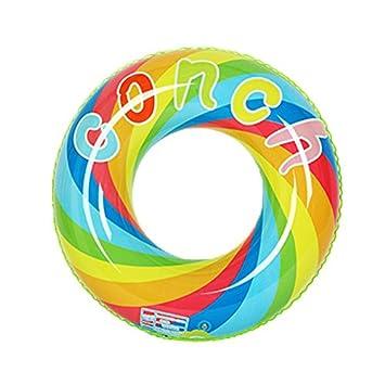 Flotador de piscina gigante, anillo de natación inflable Safety Swim Floaties Tube Pool Ring Salón