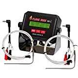 Cheap Flame Boss 300-WiFi Kamado Grill and Smoker Temperature Controller – Contains Additional 2 Meat Probes and 2 Y Adapters – Recipe eBook Incl.