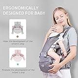 SUNVENO Baby Carrier, 6-in-1 Ergonomic Hipseat