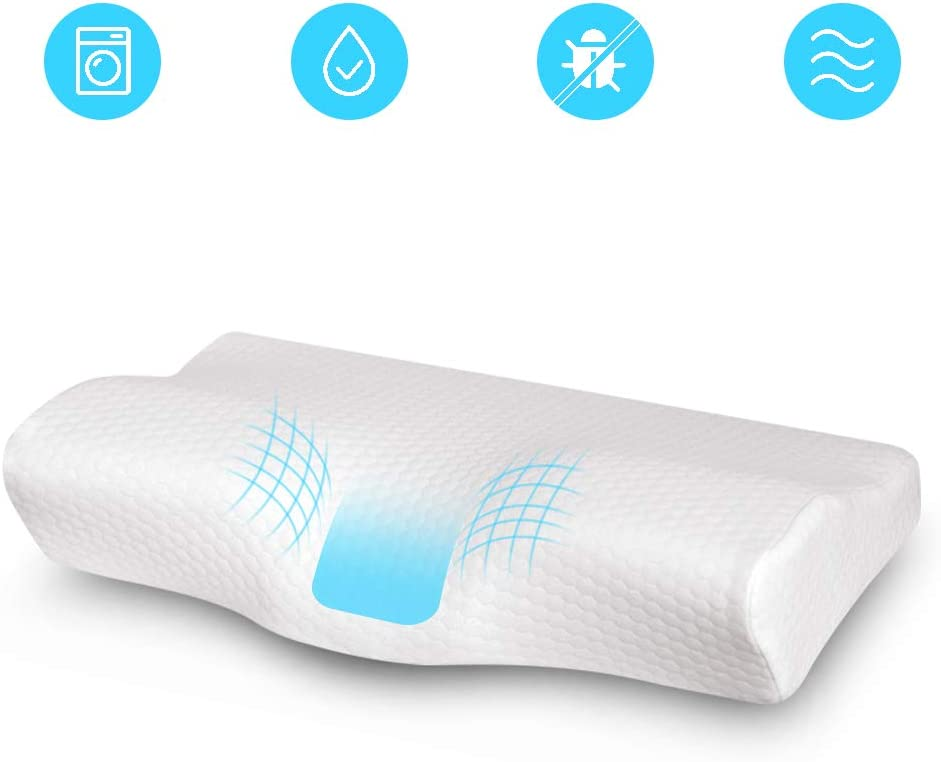 Ohiyoo Neck Pillows, Ergonomic Memory