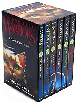 Image result for warriors the prophecies begin new box set