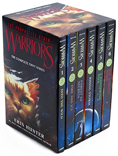 Warriors Box Set  Volumes 1 To 6  The Complete First Series  Warriors  The Prophecies Begin