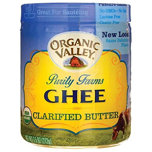 Purity Farm Ghee (Clarified Butter), 7.5-Ounce (Best Grass Fed Butter Brands)