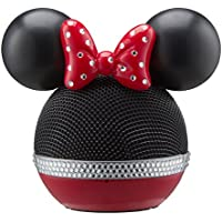 Disney Minnie Mouse Wireless Rechargeable Bluetooth Speaker with Voice Activation works with Siri and Google Now