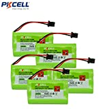 5 Pack Cordless Phone Battery Replacement Ni-MH 5/4AAA 800mAh 3.6V for Uniden BT-446 BP-446 BT-1005